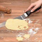Lot de spatules à pâtisserie Chefarone - 2 spatules coudées et 1 spatule droite - Couteaux lisses pour glaçage et nappage, Lot de 3 de la marque Chefarone image 4 produit