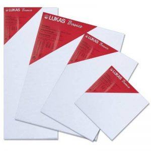 Lukas® Basics - Toile à peindre - Châssis entoilé - 30 x 30 cm - Epaisseur 16 mm - 280g/m² de la marque luk image 0 produit