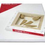 Lukas® Basics - Toile à peindre - Châssis entoilé - 30 x 30 cm - Epaisseur 16 mm - 280g/m² de la marque luk image 2 produit