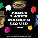 Maquilleur professionnel Latex Jaune Latex liquide 100ml Blessures Cicatrices Masques bricolage Latex Lait Latex de la marque Laguna image 2 produit