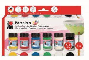Marabu Kit Peinture pour porcelaine Porcelain 6 x 15 ml de la marque Marabu image 0 produit