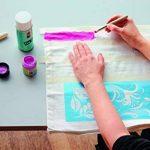 Marabu textil : peinture pour tissus clairs 15ml pot : noir de la marque Marabu image 3 produit