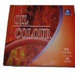 Memory Coffret peinture à l'huile pour artistes professionnels 24 couleurs en tubes aluminium de 12ml de la marque Memory image 1 produit