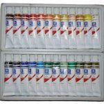 Memory Coffret peinture à l'huile pour artistes professionnels 24 couleurs en tubes aluminium de 12ml de la marque Memory image 2 produit