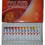 Memory Coffret peinture à l'huile pour artistes professionnels 24 couleurs en tubes aluminium de 12ml de la marque Memory image 3 produit