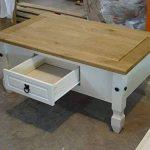 Mercers Furniture Corona Painted Table basse–Crème/pin de la marque Mercers Furniture image 4 produit