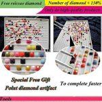 Meshela DIY Manuel Diamant Tableau Set de Tigre Résine Strass Collé Point de Croix pour la Décoration de Maison de la marque Meshela image 4 produit
