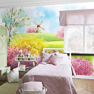 MIAORUI enfants enfants salle salle 3d de papier peint étude chambre cartoon contexte stéréo tapisserie peinture murale, pour 1 m² le prix, est fondée sur la largeur du mur et des coutumes,,8 / pour de la marque MIAORUI Sticker Mural image 0 produit