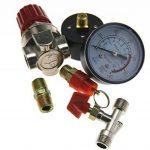Micro Trader Nouveau 90–120PSI Compresseur d'air Régulateur de pression Interrupteur de commande Soulagement jauges de la marque Micro Trader image 3 produit