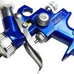Mini pistolet pulvérisateur de peinture HVLP - inoxydable - Buse de 0,8mm + 2buses supplémentaires de 0,5mm et 1mm de la marque IPOTOOLS image 2 produit