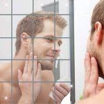 Miroirs décoratifs 16PCS DIY miroir autocollants mosaïque, YTAT surface du miroir Wall Stickers Décor 15 * 15 cm, décalque Accueil Acrylique 3D Accueil décalcomanies de la marque YTAT image 1 produit