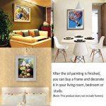 MMMR Maison Décor Toile Peinture Par Numéros Kit Peinture à l'huile Bricolage Venise Nuit Pas de Cadre de la marque MMRM image 3 produit