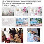 MMMR Maison Décor Toile Peinture Par Numéros Kit Peinture à l'huile Bricolage Venise Nuit Pas de Cadre de la marque MMRM image 4 produit