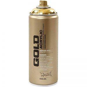 Montana Gold M3000Spray 400ml, or chromé de la marque Montana image 0 produit