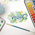 MozArt Supplies Set de peinture aquarelle – 24 couleurs lumineuses – léger et transportable – parfait pour les amateurs et les artistes professionnels – pinceau inclus de la marque MozArt Supplies image 1 produit