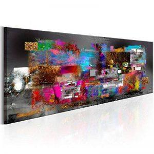 murando - Impression sur toile - 135x45 cm - 1 Piece - Image sur toile - Images - Photo - Tableau - motif moderne - Décoration - tendu sur chassis - abstraction abstrait coloré f-A-0484-b-b de la marque BD XXL image 0 produit