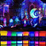 neon nights 8 x Peinture Phosphorescente Autoluminescente Couleur Fluo Luisant Dans Le Noir de la marque neon nights image 1 produit