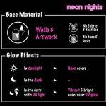 neon nights 8 x Peinture UV Fluorescente Pour Lumière Noire de la marque neon nights image 6 produit