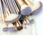 Nestling® 18PCS Kit de Pinceau Visage Maquillage Professionnel Essentiel en Fibre Nylon Souple - Brush Make Up Ensemble Brosse Cosmétique Fondation avec Sac de Rangement Exquis de la marque Nestling image 1 produit