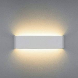 NetBoat 12W Moderne Applique Murale Luminaire Interieur LED Lampe de Up/Down Light, Salle de Bain Miroir Lampe,Decorative pour Chambre Enfant Couloir Hôte de la marque NetBoat image 0 produit