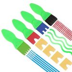 NiceButy 18 PCS Pinceaux Brosses de Peinture enfant Dessin Art DIY Outils Éponge de dessin Peinture Brosse avec Palette et Tablier Rouleaux de peinture de la marque NiceButy image 6 produit