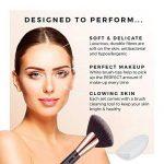 Niré Beauty Next Level Kabuki: Kabuki pinceaux maquillage professionnel DE QUALITÉ SUPÉRIEURE| GRATIS: Niré Beauty Boîte étui tube & Brosse Nettoyante en silicone de la marque Niré image 3 produit