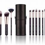 Niré Beauty Next Level Kabuki: Kabuki pinceaux maquillage professionnel DE QUALITÉ SUPÉRIEURE| GRATIS: Niré Beauty Boîte étui tube & Brosse Nettoyante en silicone de la marque Niré image 2 produit
