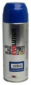 Novasol Spray C505BA5 Pinty Plus Evolution Lot de 6 Aérosols Peinture Acrylique Brillant Bleu Sécurité Ral 5005 400 ml de la marque Novasol spray image 0 produit