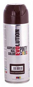 Novasol Spray C817BA5 Pinty Plus Evolution Lot de 6 Aérosols Peinture Acrylique Brillant Brun Chocolat Ral 8017 400 ml de la marque Novasol spray image 0 produit