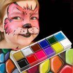 NUOLUX 12 en 1 Flash Visage Corps Peinture Huile Art Maquillage Noël Déguisements Party Palette de la marque NUOLUX image 3 produit