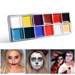 NUOLUX 12 en 1 Flash Visage Corps Peinture Huile Art Maquillage Noël Déguisements Party Palette de la marque NUOLUX image 4 produit