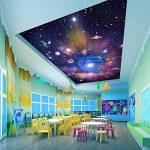 Ohcde Dheark Custom 3D Photo Wallpaper Star Universe Galaxy Prix Faux Plafond Peinture Papier Peint Salon Chambre À Coucher Maison 150cmX105cm(59.1 by 41.3 in) de la marque Ohcde Dheark image 1 produit