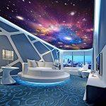 Ohcde Dheark Custom 3D Photo Wallpaper Star Universe Galaxy Prix Faux Plafond Peinture Papier Peint Salon Chambre À Coucher Maison 150cmX105cm(59.1 by 41.3 in) de la marque Ohcde Dheark image 2 produit