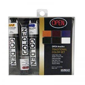 Or OPEN Acrylique Intro Set - TRADITIONAL de la marque Golden image 0 produit