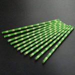 OUNONA 150pcs Pailles de papier biodégradables Palmes de bambou pour boissons pour fête Décoration de la marque OUNONA image 3 produit