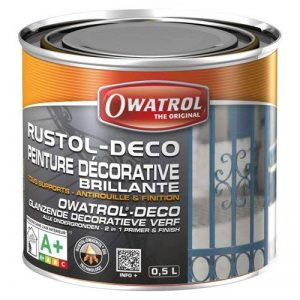 Owatrol Rustol-Deco Peinture décorative brillante 0,5 L Blanc de la marque Owatrol image 0 produit