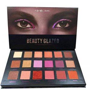 Oyalaiy 18 couleurs Ombre ¨¤ paupi¨¨res Palette Matte Glitter Pigment Texture Eye Shadow Beauty Maquillage de la marque OYOTRIC image 0 produit