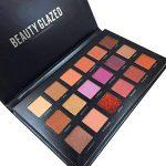 Oyalaiy 18 couleurs Ombre ¨¤ paupi¨¨res Palette Matte Glitter Pigment Texture Eye Shadow Beauty Maquillage de la marque OYOTRIC image 3 produit