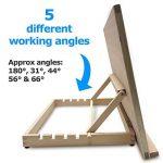 Pablo- Station de travail A3/ chevalet de table ou de bureau ajustable en bois A2 de la marque Pablo image 2 produit