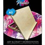 Pablo- Station de travail A3/ chevalet de table ou de bureau ajustable en bois A2 de la marque Pablo image 5 produit