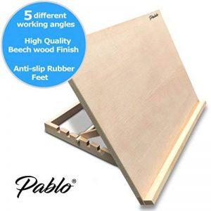 Pablo- Station de travail A3/ chevalet de table ou de bureau ajustable en bois, A3 de la marque Pablo image 0 produit