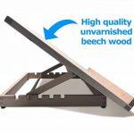 Pablo- Station de travail A3/ chevalet de table ou de bureau ajustable en bois, A3 de la marque Pablo image 1 produit