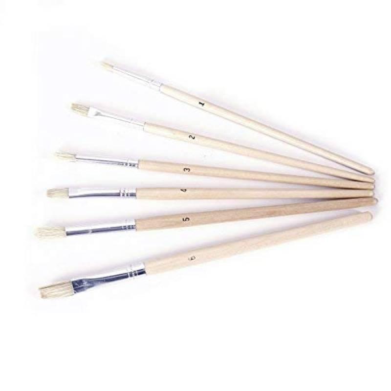 Chevalet de Table// 3 x Tableaux de toile//12 x Couleurs acryliques// 4 x pinceaux dartiste//Crayon HD//Palette en Bois Exerz AS-HBX-5 Ensemble de Peinture Boite Chevalet en Bois Premium de 23 pi/èces