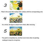 PanDaDa Peinture à l'huile Chat Jaune Dort Souris Kits Peinture par Numéro DIY Toile Art Création Décoration Murale de Maison Salon Chambre Cadeaux Anniversaire Noël Fête pour Adulte(Sans Cadre,40*50CM) de la marque PanDaDa image 3 produit
