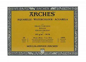 papier aquarelle arches torchon TOP 4 image 0 produit