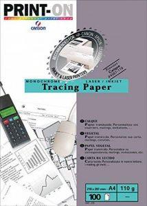 papier calque pour imprimante laser TOP 4 image 0 produit