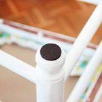 Patin chaise meuble en feutre | Protection pied de chaise | lot de 18 patins glisseurs Ø 28 mm adhésifs de HAFTPLUS | pour protéger efficacement parquets et autres sols délicats de la marque Haftplus image 3 produit