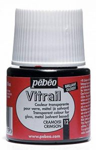 Pébéo 050012 Vitrail 1 Flacon Cramoisi 45 ml de la marque Pébéo image 0 produit