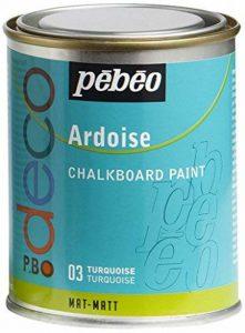 Pébéo 093503 Déco Acrylique Ardoise 1 Boîte Métal Turquoise 250 ml de la marque Pébéo image 0 produit