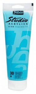 Pébéo 164030 Beaux-Arts Studio Acrylique 1 Tube Bleu Turquoise 250 ml de la marque Pébéo image 0 produit